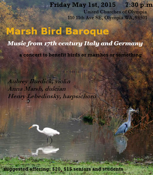 Marsh Bird Baroque